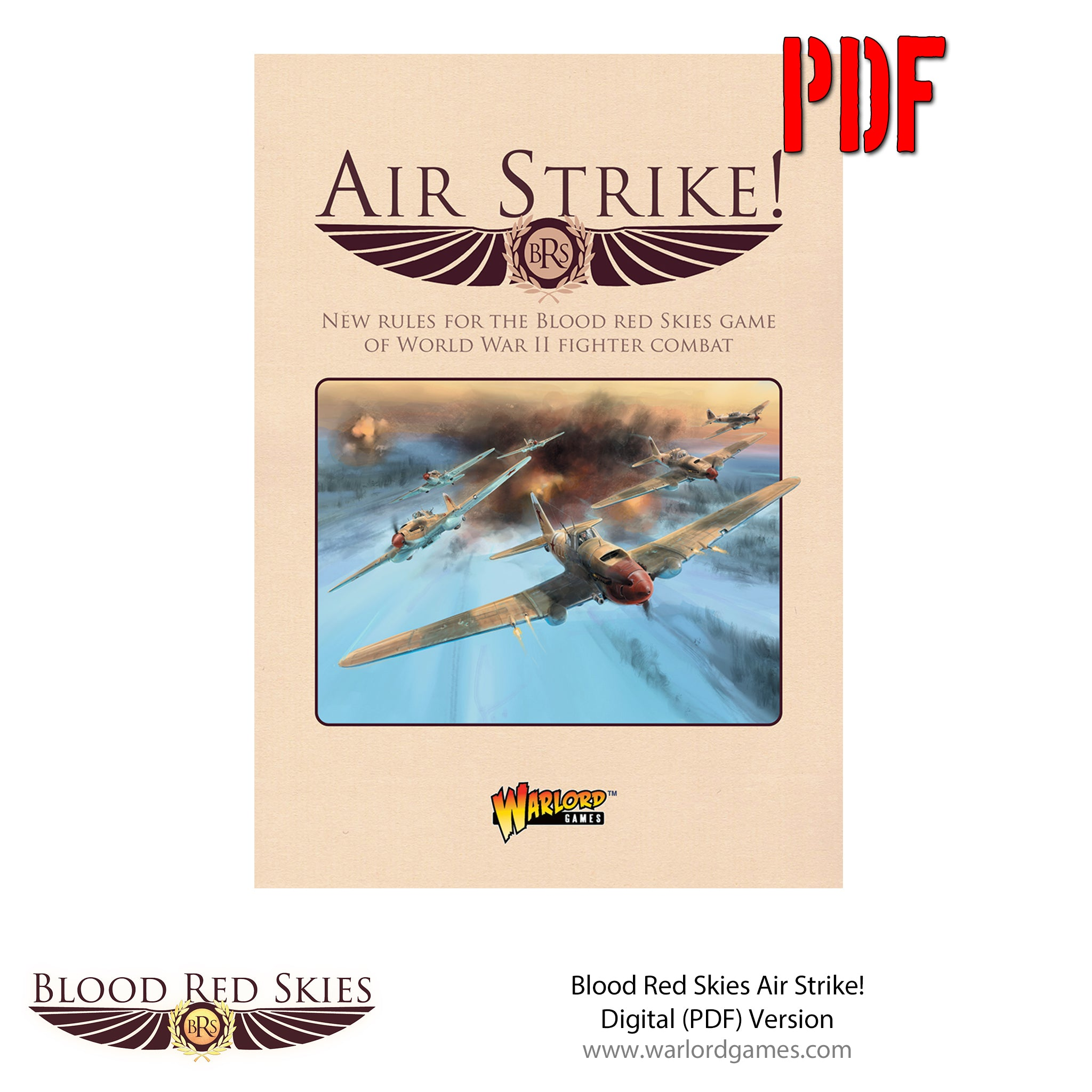 Blood Red Skies: Air Strike supplement PDF