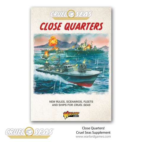 Close Quarters! Cruel Seas supplement