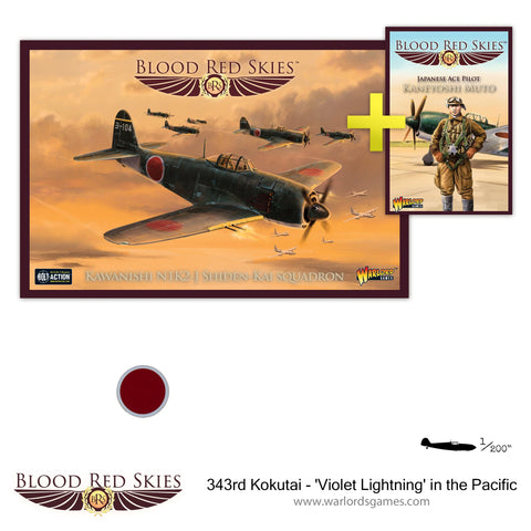 343rd Kokutai - 'Violet Lightning' in the Pacific