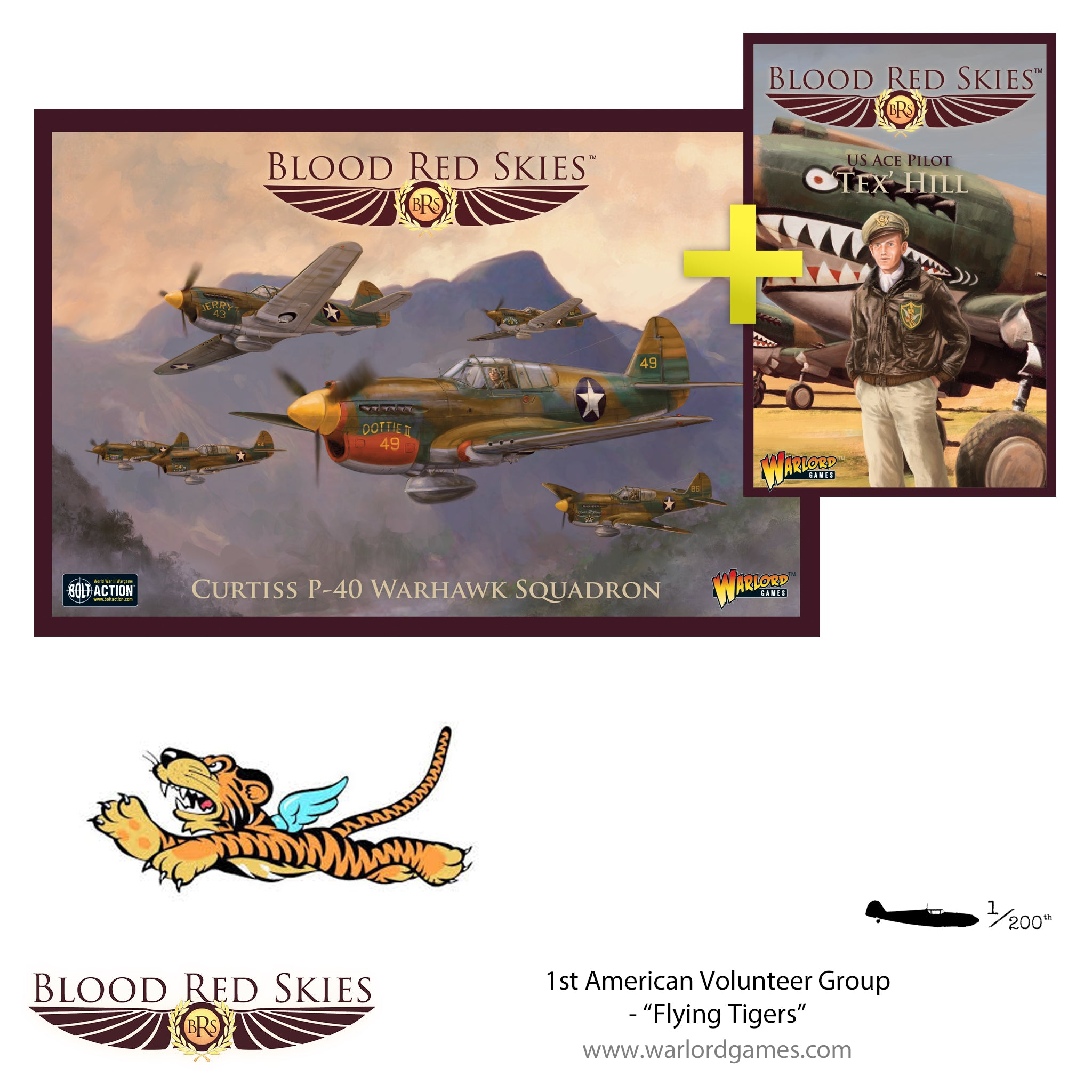 "1st American Volunteer Group - ""Flying Tigers"", P-40 Squadron"