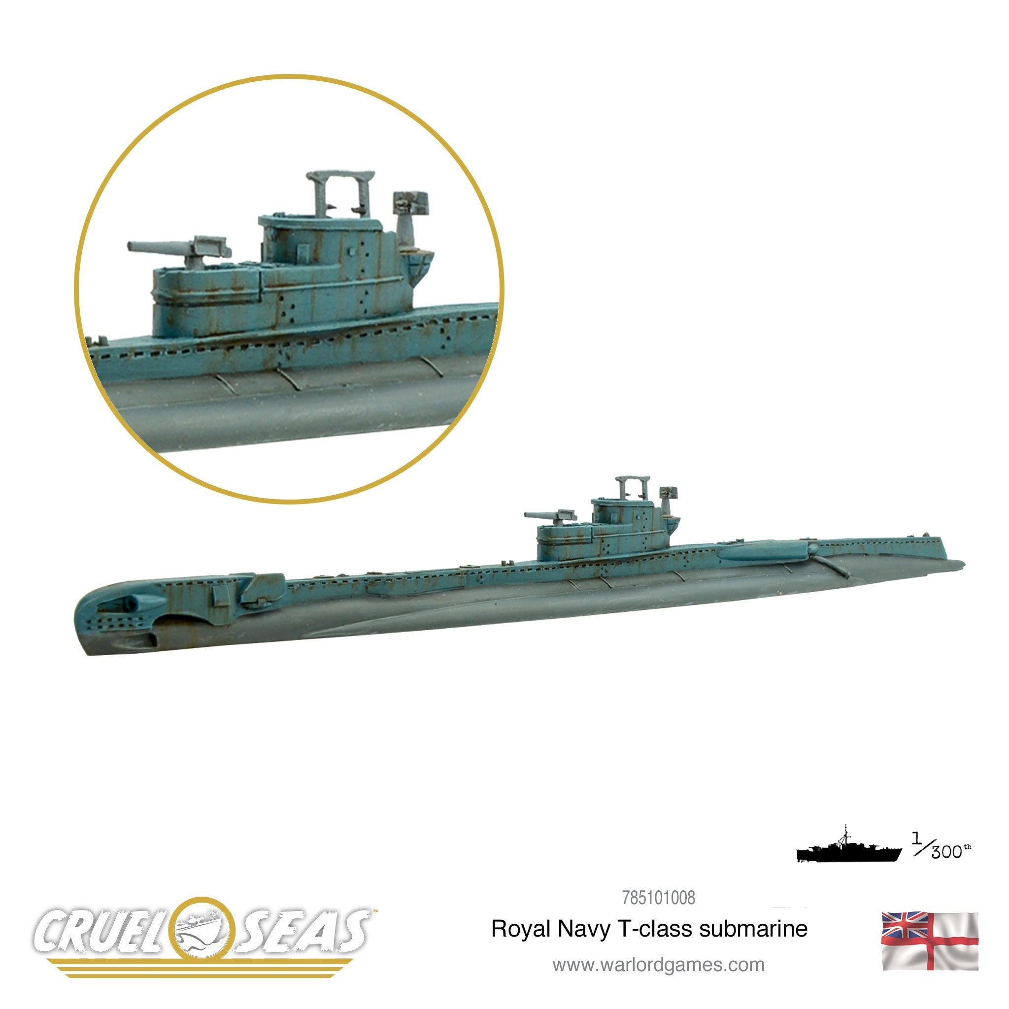 Cruel Seas: Royal Navy T-class submarine