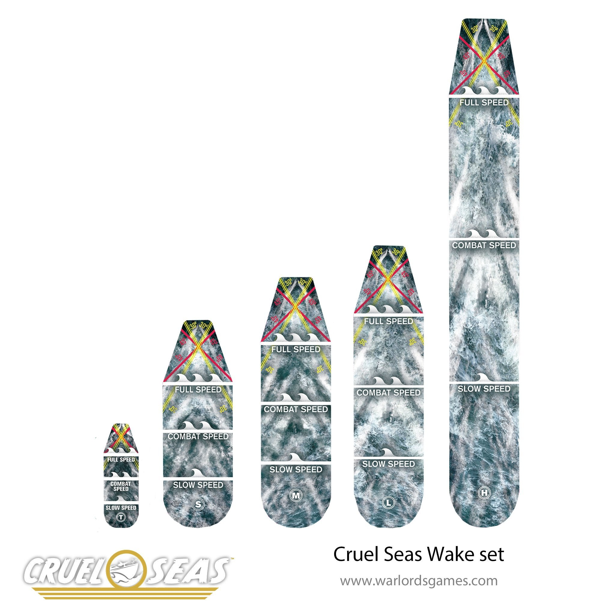 Cruel Seas Wake set