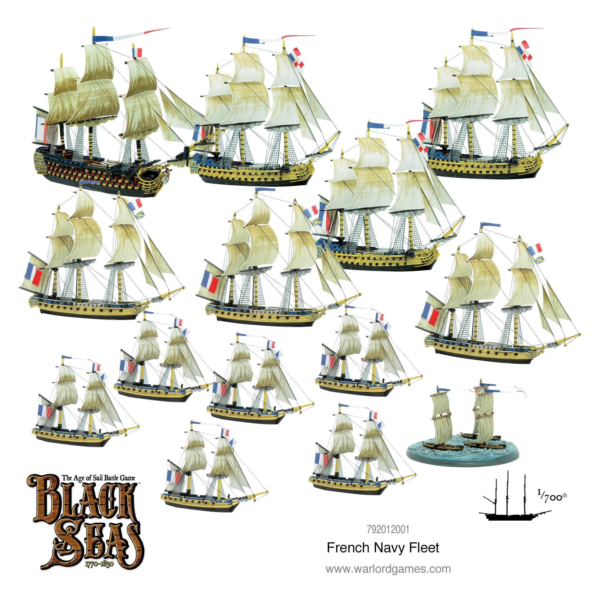 French Navy Fleet (1770 - 1830)
