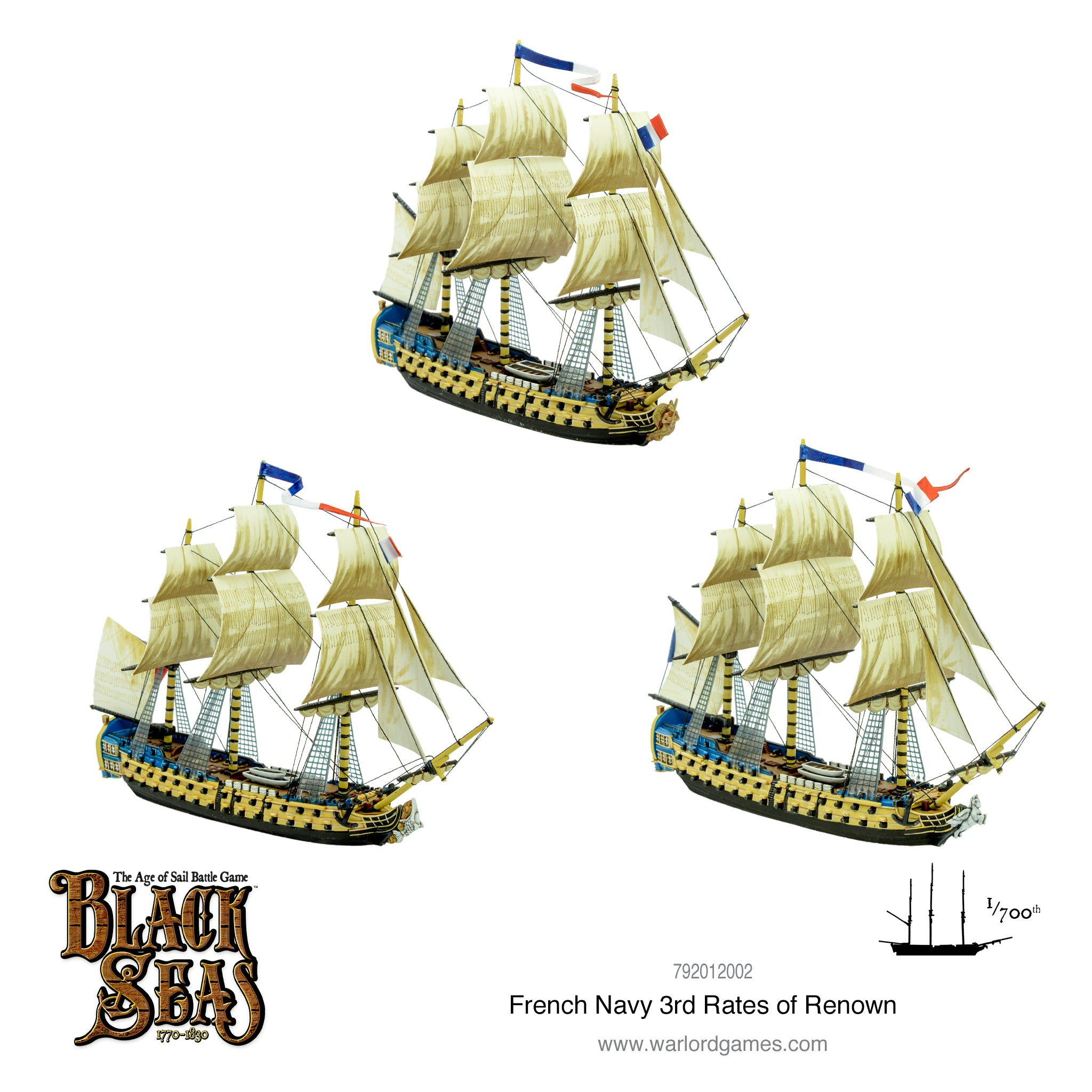 French Navy 3rd Rates of Renown