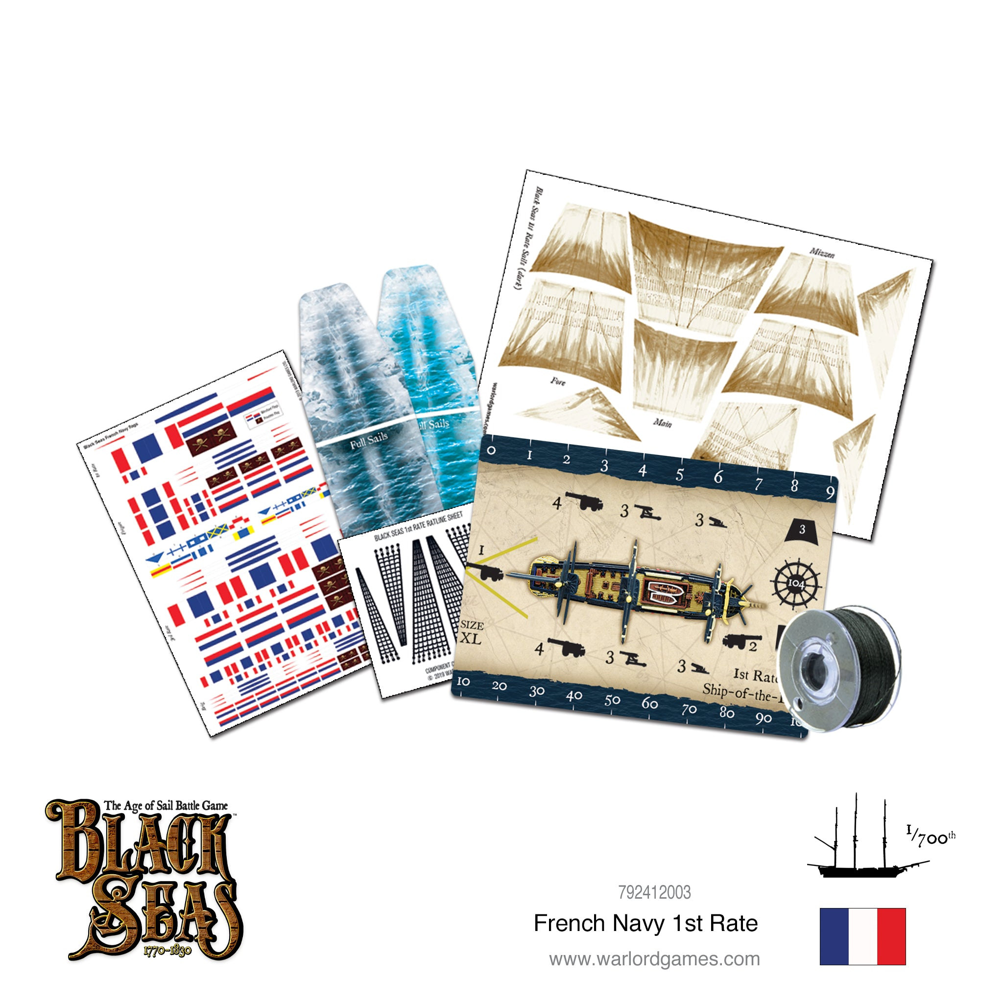 French Navy 1st Rate