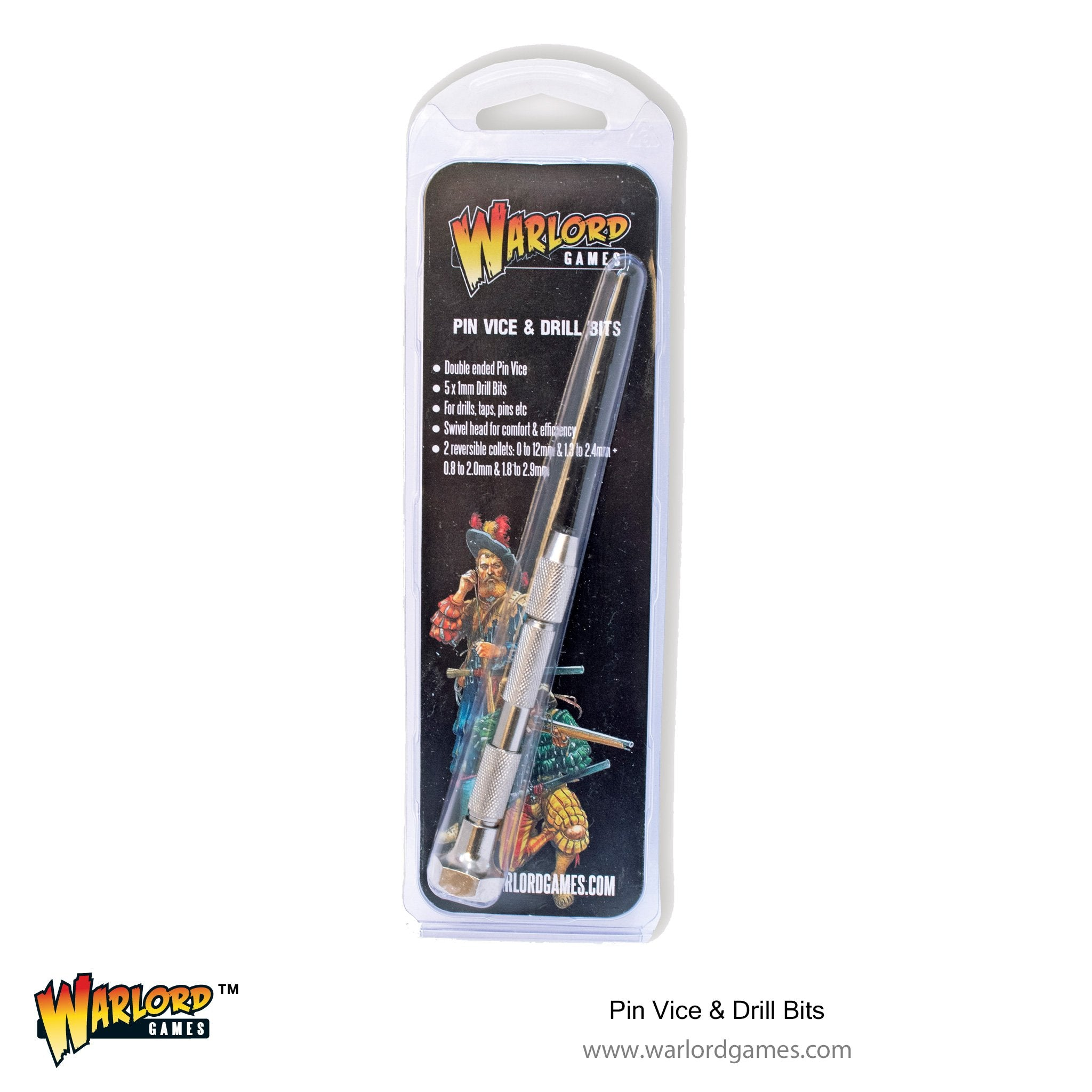 Warlord Pin Vice and Drill Bits
