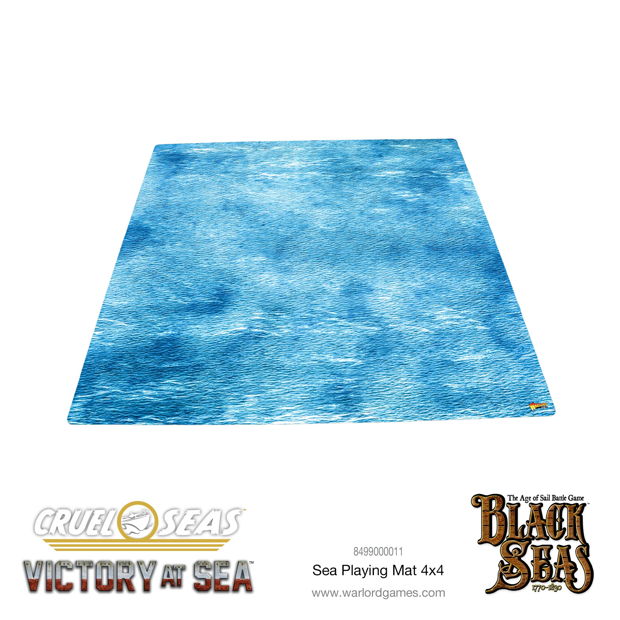 Playing Mat 4x4 Sea Playmats