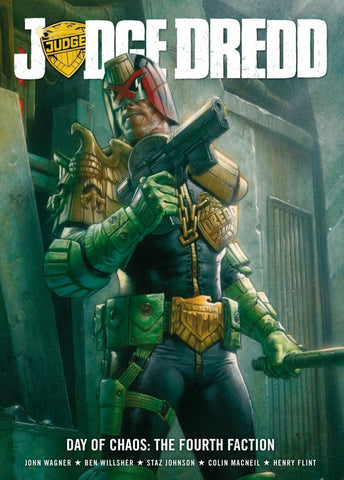 Judge Dredd: Day of chaos - The fourth faction (Paperback)