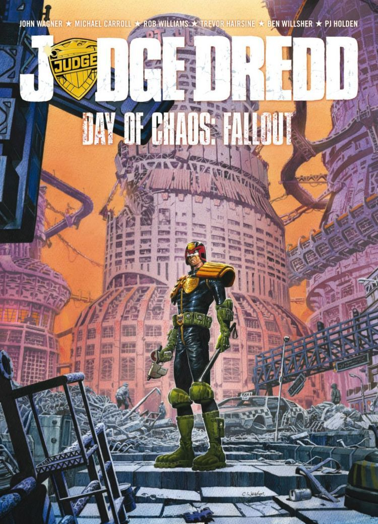 Judge Dredd: Day of chaos - Fallout (Paperback)