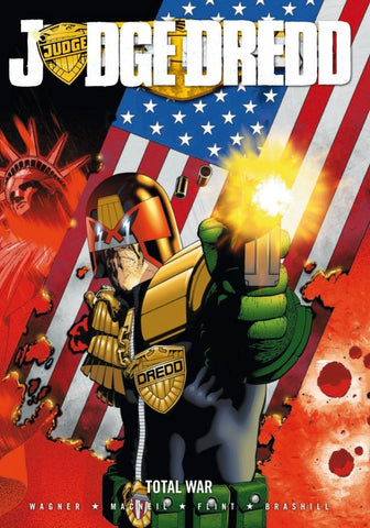 Judge Dredd: Total War (Paperback)