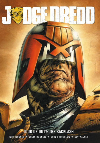 Judge Dredd: Tour of Duty - The Backlash (Paperback)