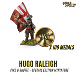 Hugo Raleigh - Pike and Shotte Book Figure