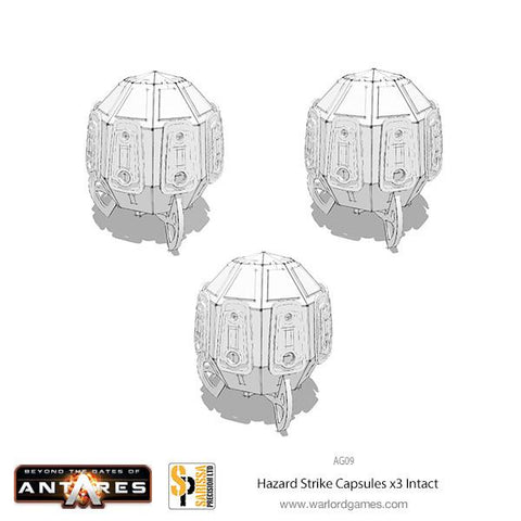 x3 Hazard Strike Capsules set