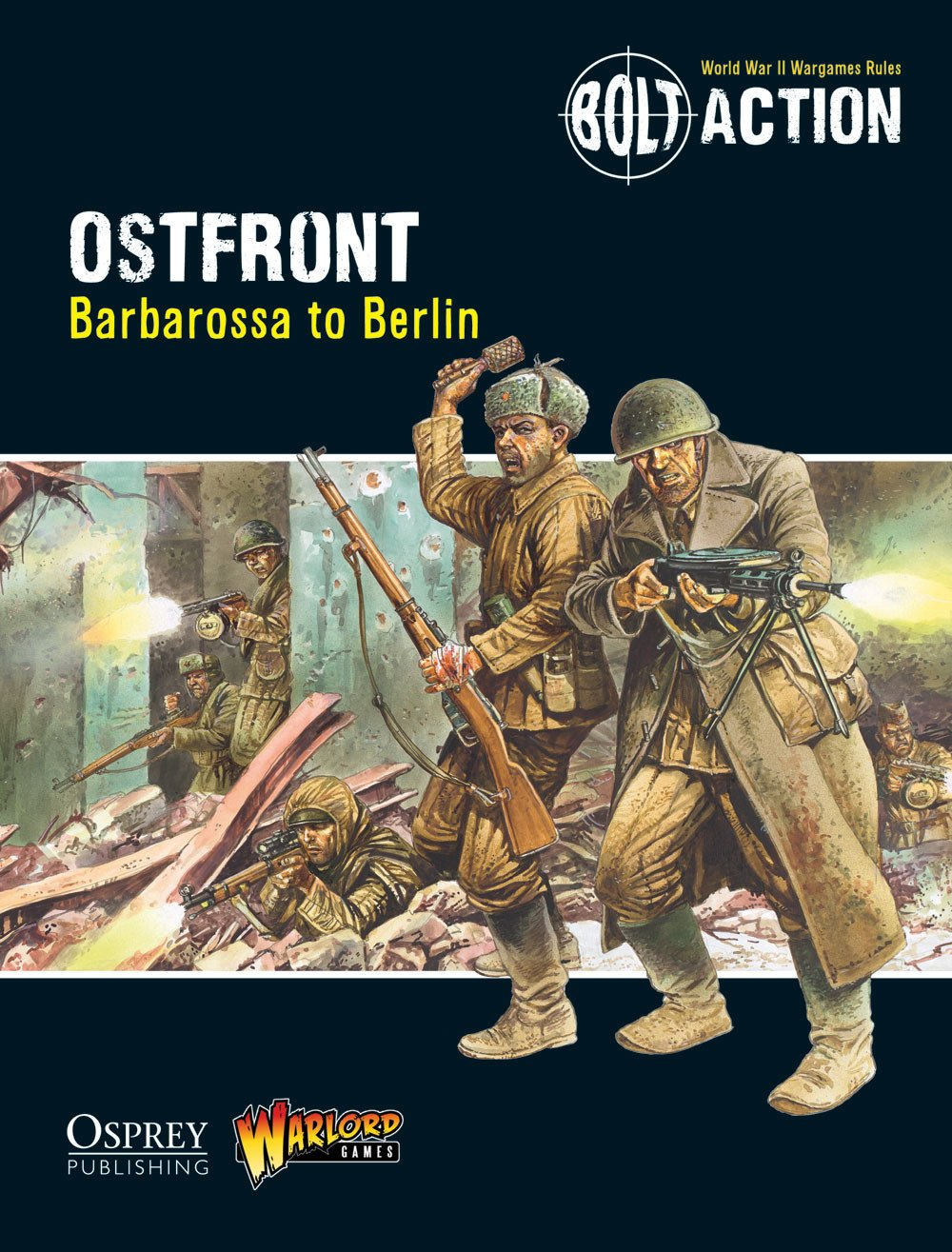 Digital Ostfront: Barbarossa to Berlin - Bolt Action Theatre Book eBook