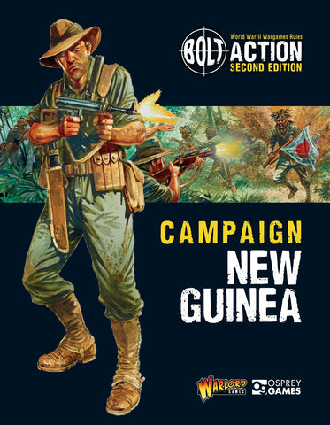 Digital Bolt Action Campaign: New Guinea Ebook