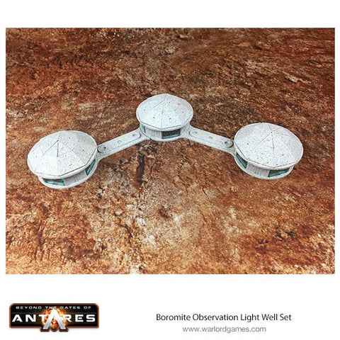Boromite Observation Light Well Set (1x strip of 3)