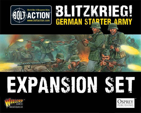 Blitzkrieg German Starter Army Expansion Set