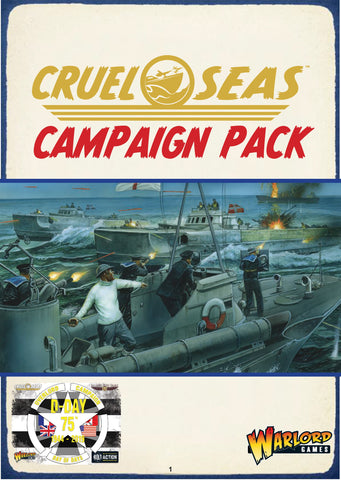 75th D-Day anniversary Campaign Pack - Cruel Seas PDF