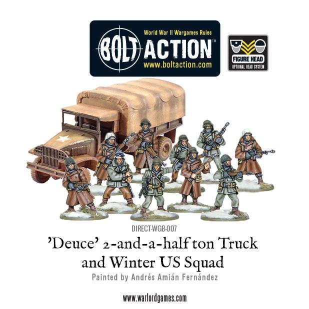 'Deuce' 2&1/2 ton Truck with Winter US Squad