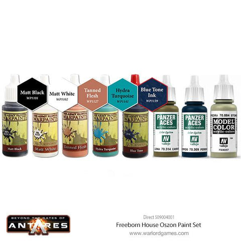 Freeborn House Oszon Paint Set