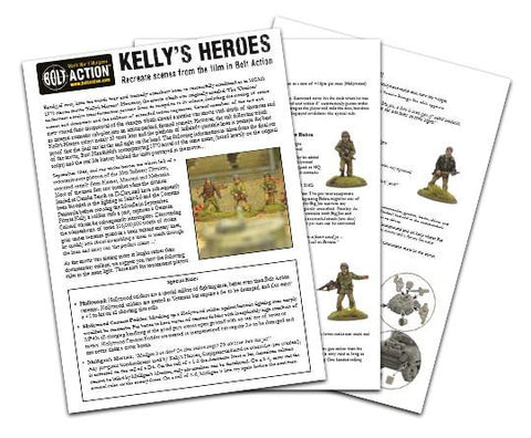 Kelly's Heroes booklet PDF