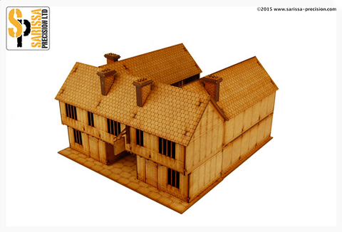 English Timber Framed 28mm Tavern/Coachhouse
