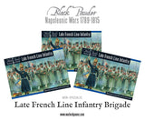 Napoleonic Late French Line Infantry (1812-1815) Brigade
