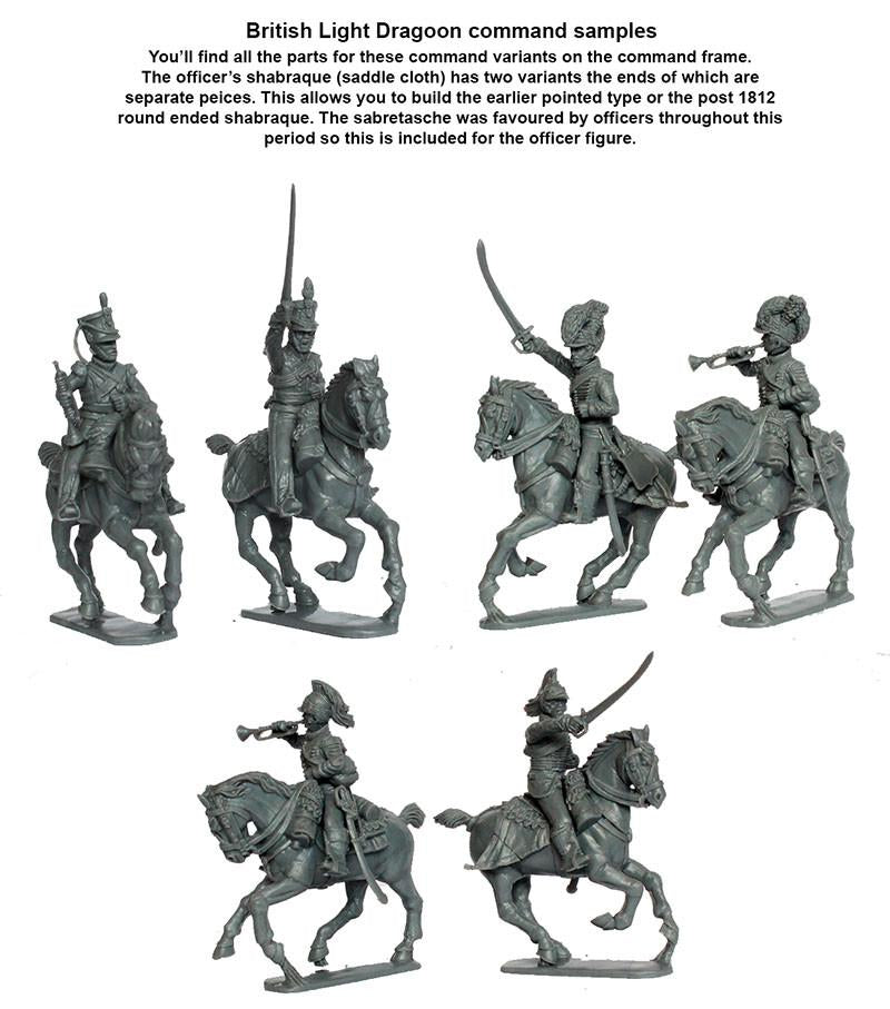 Napoleonic British Light Dragoons 1808-1815 Brigade (2 boxes)