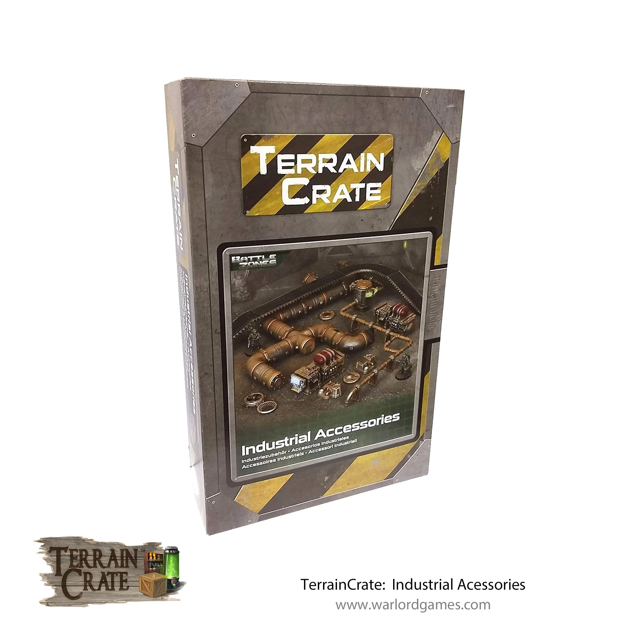 TerrainCrate: Industrial Accessories