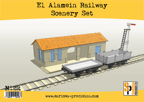 El Alamein Railways Station Set