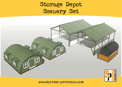 Storage Shelter Scenery Set