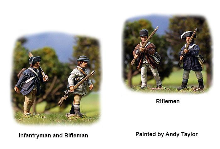 American War of Independence Continental Infantry 1776-1783