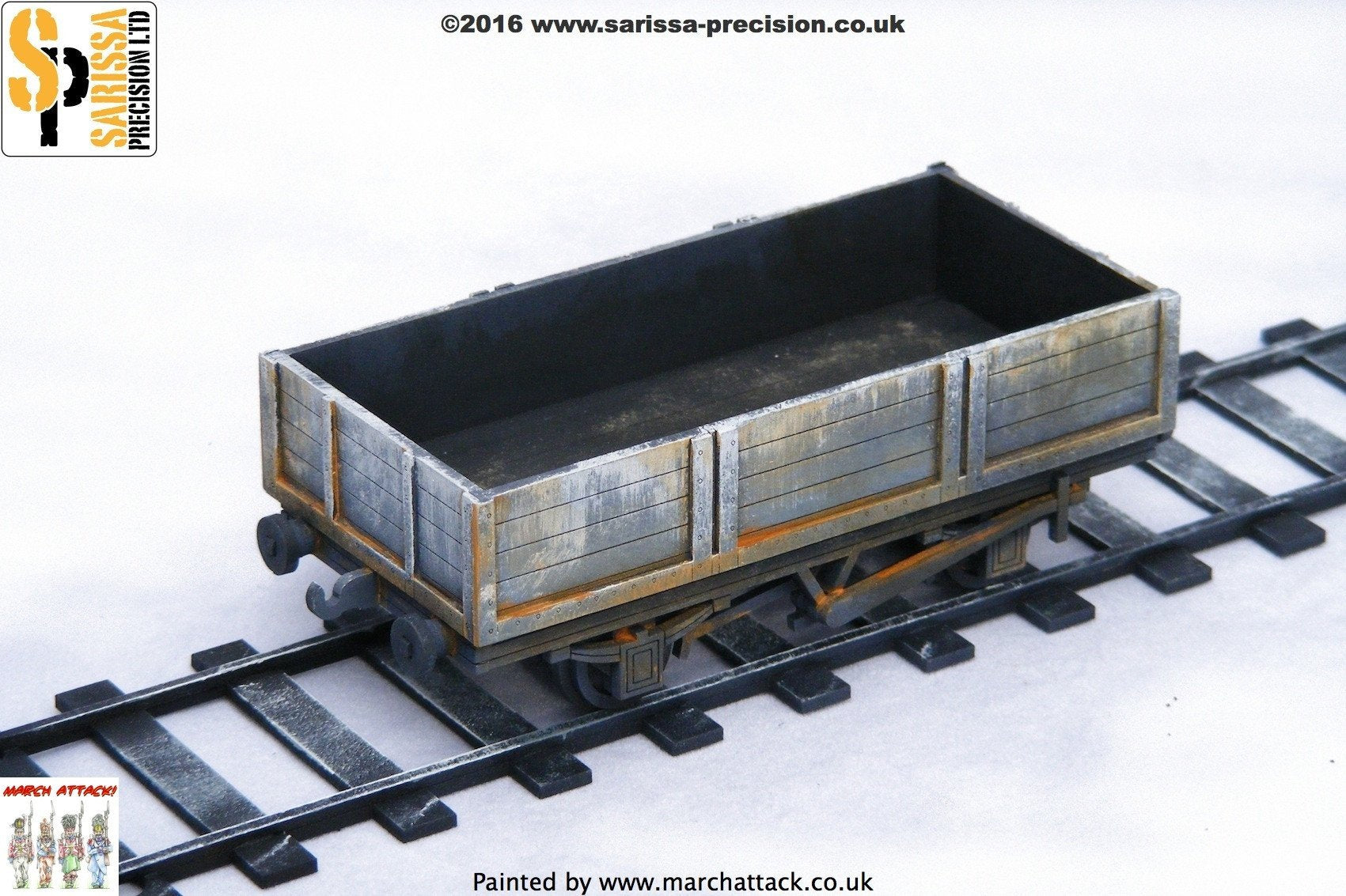 Low Aggregate Wagon