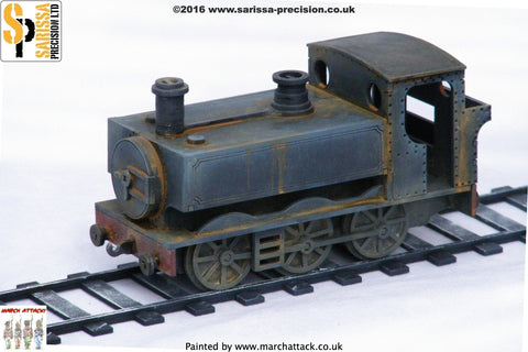 Pannier Tank Steam Engine