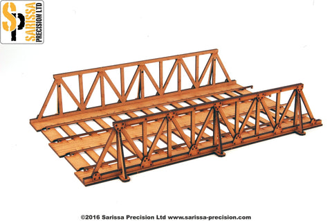 Warren Truss Bridge - double track
