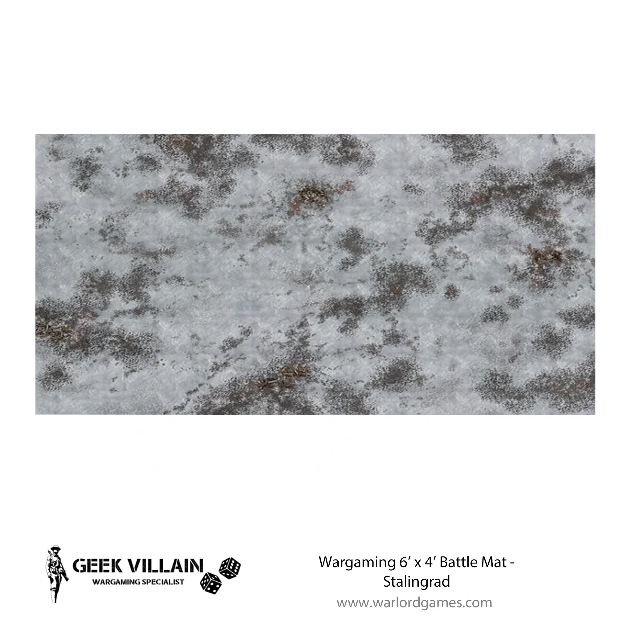 Wargaming Battle Mat 6x4 Stalingrad