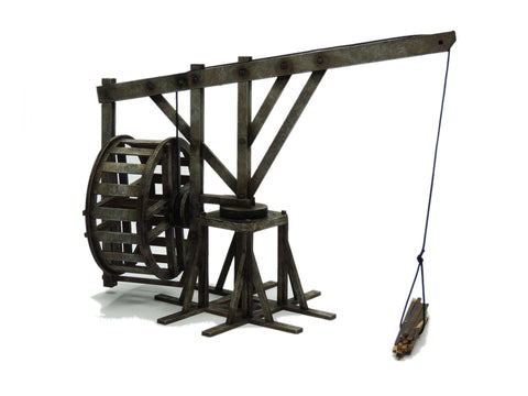 Large Treadwheel Crane