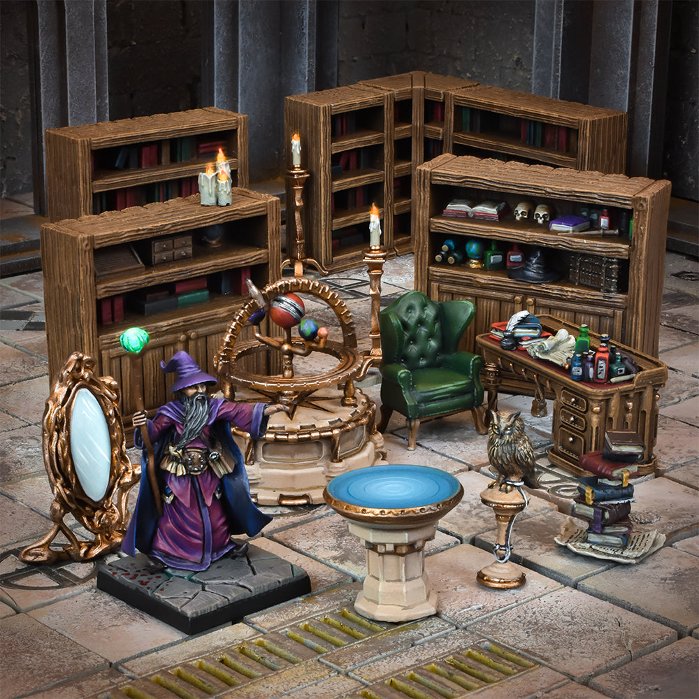 Terrain Crate Wizards Study