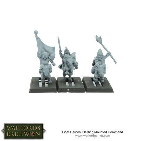 Goat Heroes, Halfling Mounted Command