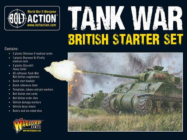 Tank War: British starter set