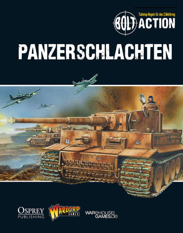 Tank War - Bolt Action supplement German