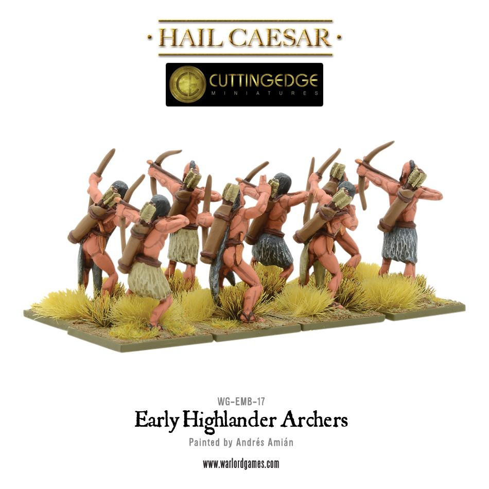Early Highlander archers