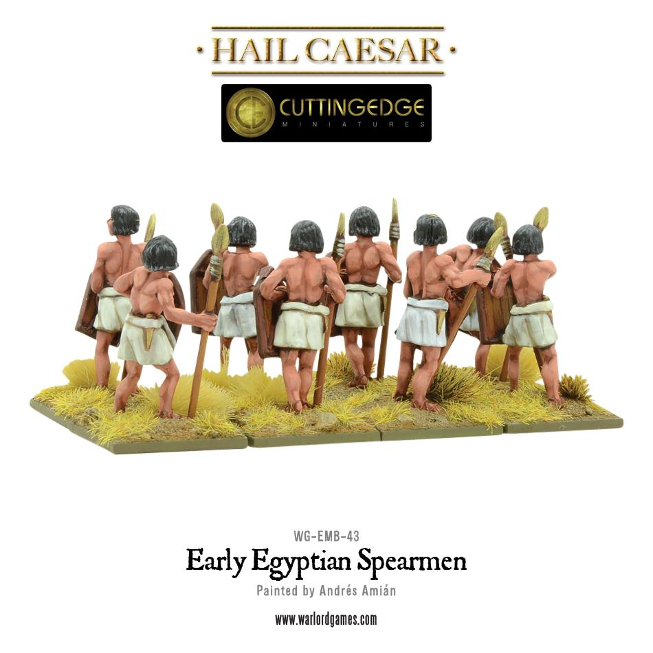 Early Egyptian Spearmen