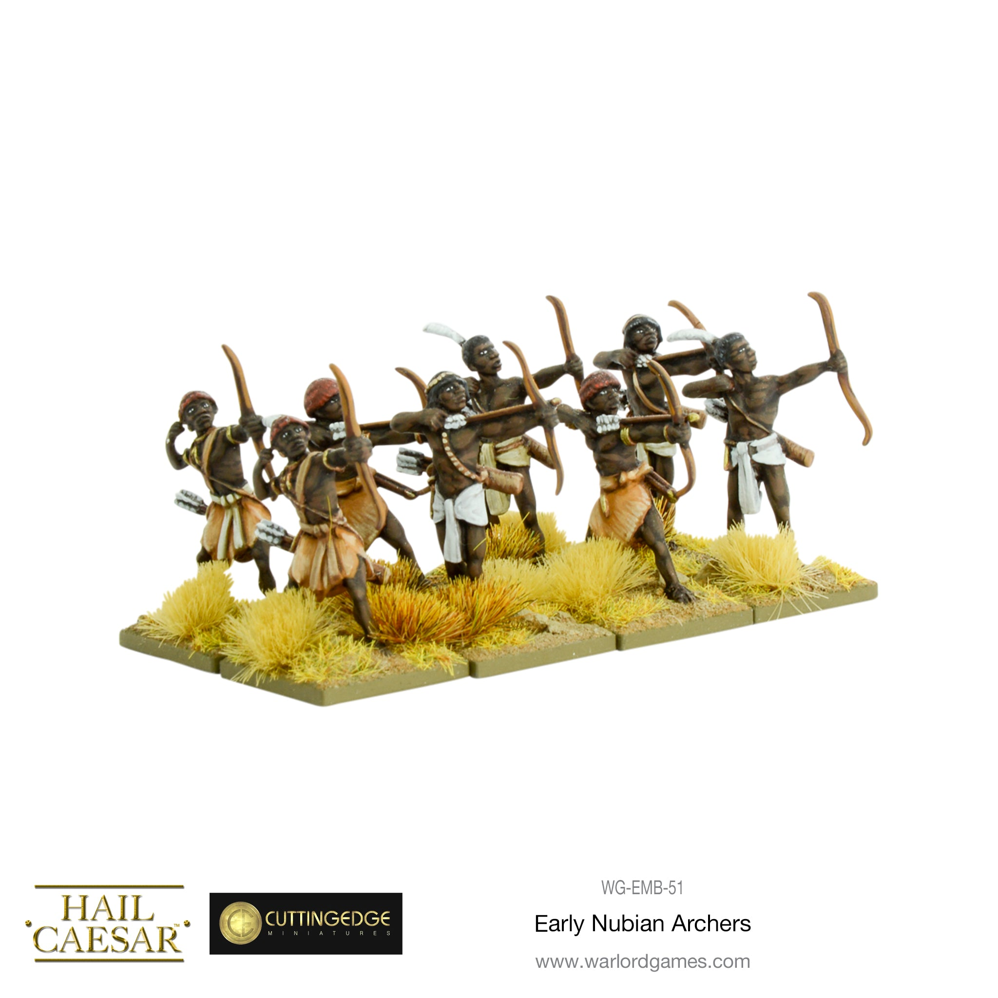 Early Nubian archers