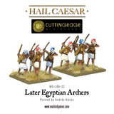 Later Egyptian Archers