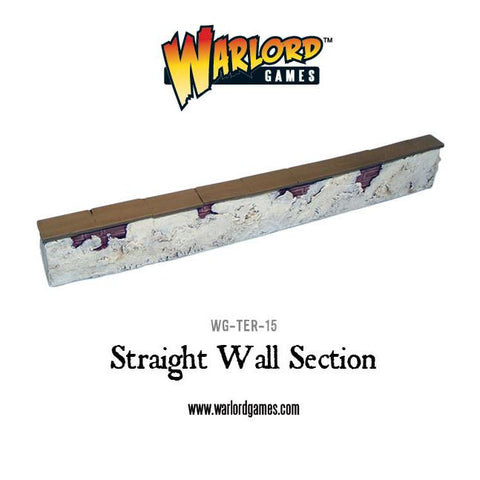 Straight Wall Section