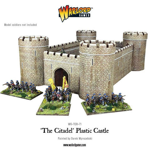 'The Citadel' Plastic Castle
