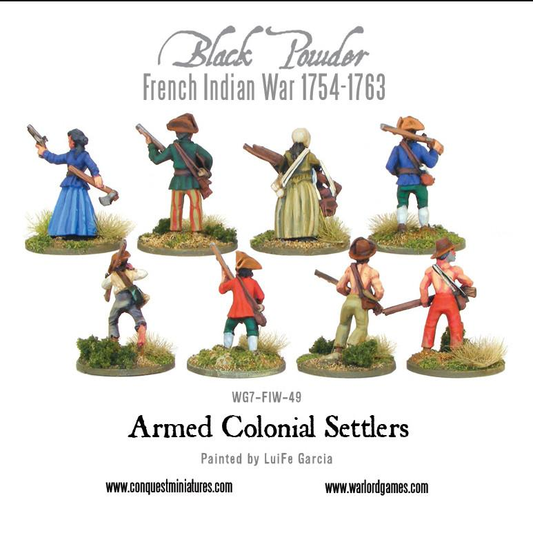 Armed Colonial Settlers