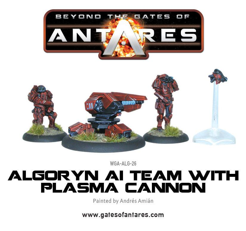 Algoryn AI team with Plasma Cannon