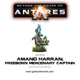 Amano Harran, Freeborn Mercenary Captain